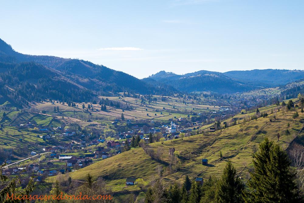 Valles y naturaleza en Bucovina, Rumanía