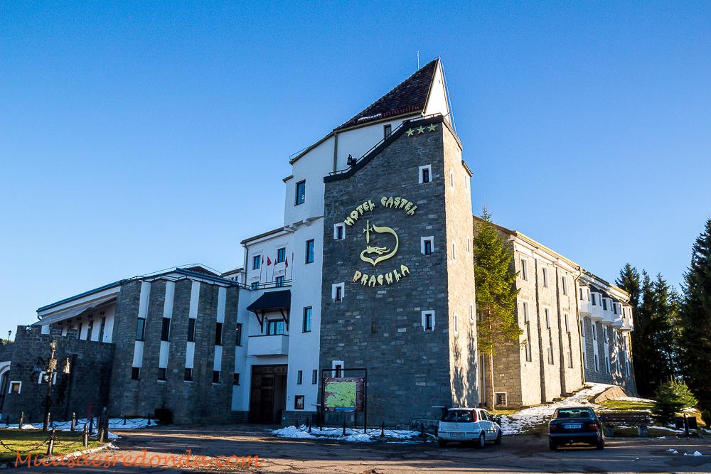 El hotel ambientado en Drácula, cerca de Bistrita