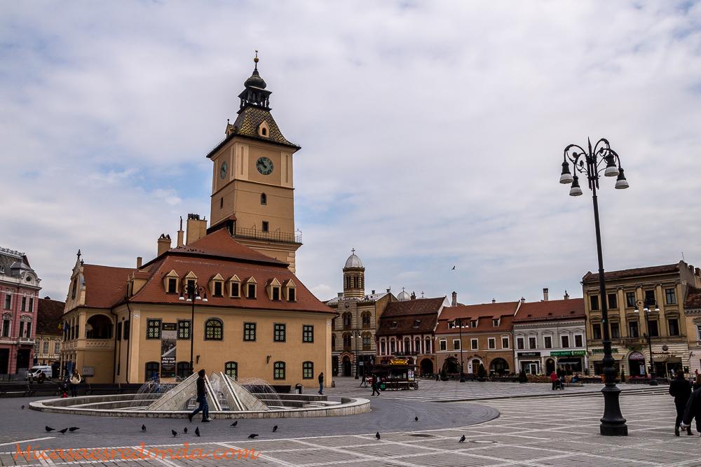 Plaza del Consejo, Brasov