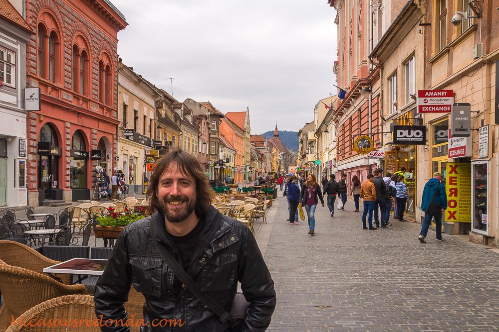 Buscando el sol en Brasov