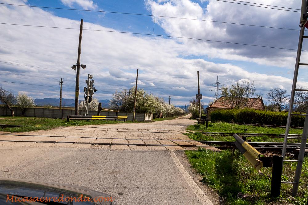 Multitud de pasos a nivel en Rumanía