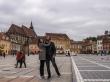 En la Plaza del Consejo, Brasov