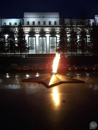 Tumba al soldado desconocido, Irkutsk