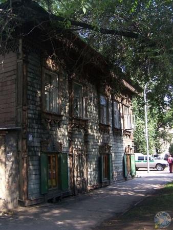 Uno de nuestros alojamientos en Irkutsk