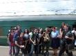 A punto de emprender las 88 horas de tren hasta Irkutsk
