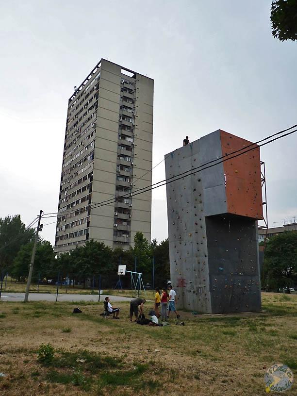 La herencia comunista en Novi Beograd