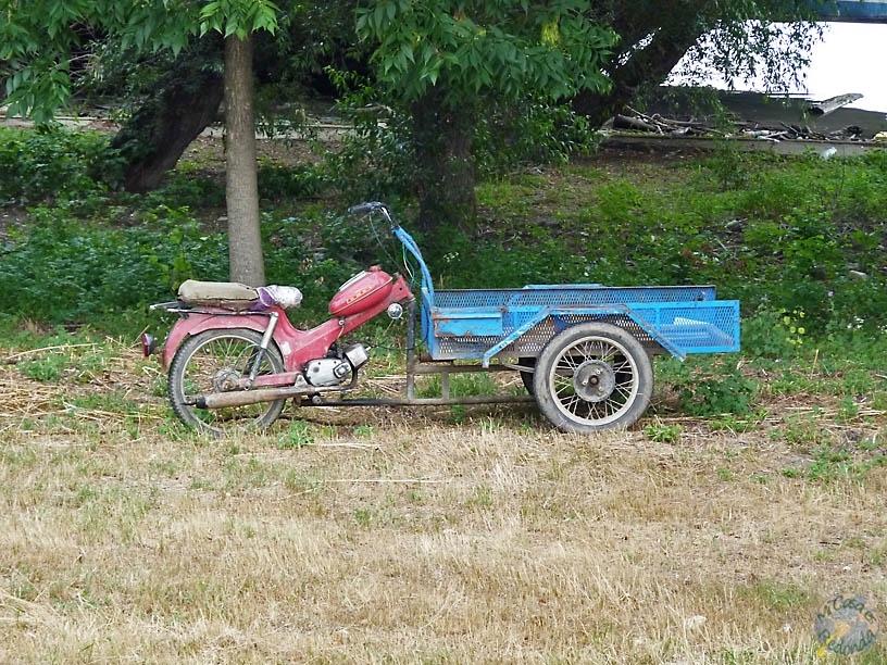 El motocarro! (o será carromoto?)
