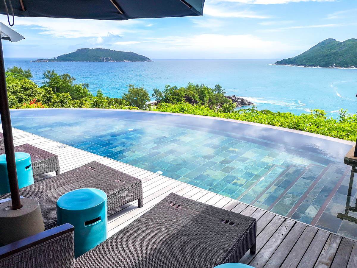 Villas con piscina privada en los resorts de Seychelles