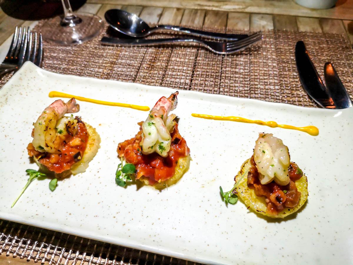 El marisco está presente en la cocina de Seychelles