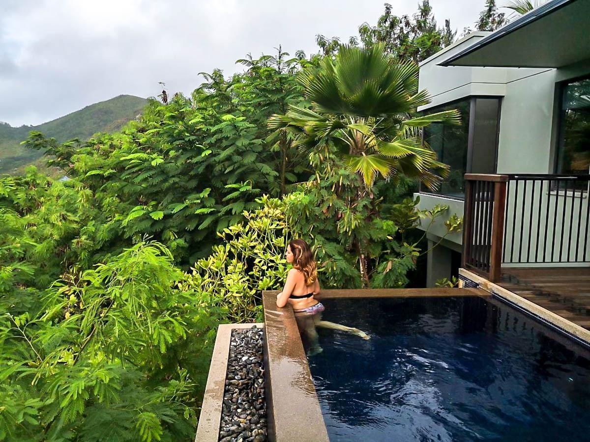 Disfrutando del lujo en Seychelles