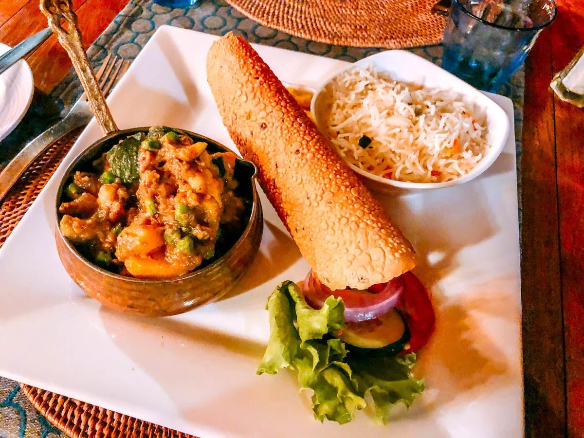 El curry es uno de los platos tradicionales de Seychelles