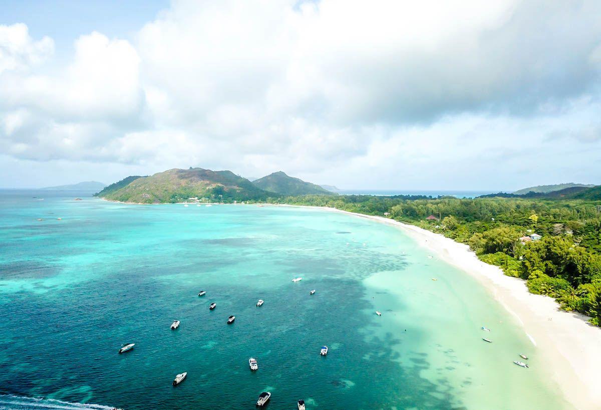 Anse Volbert en Praslin, Seychelles