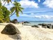 No hay buscar hueco para la sombrilla, Silhouette, Seychelles