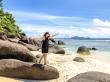 funambulista en Seychelles