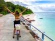 Siempre dan ganas de tirarse al agua, Seychelles