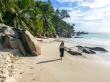 La fina arena de las playas de Seychelles