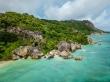 Espectaculares paisajes de La Digue, Seychelles