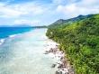 Recorriendo Silhouette con el dron, Seychelles