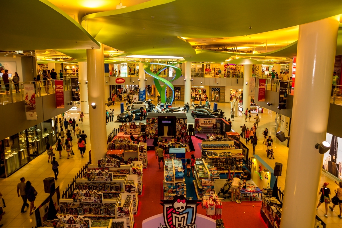 Centro comercial #1, Singapur