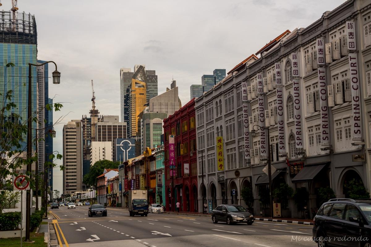 Llegando a Chinatown