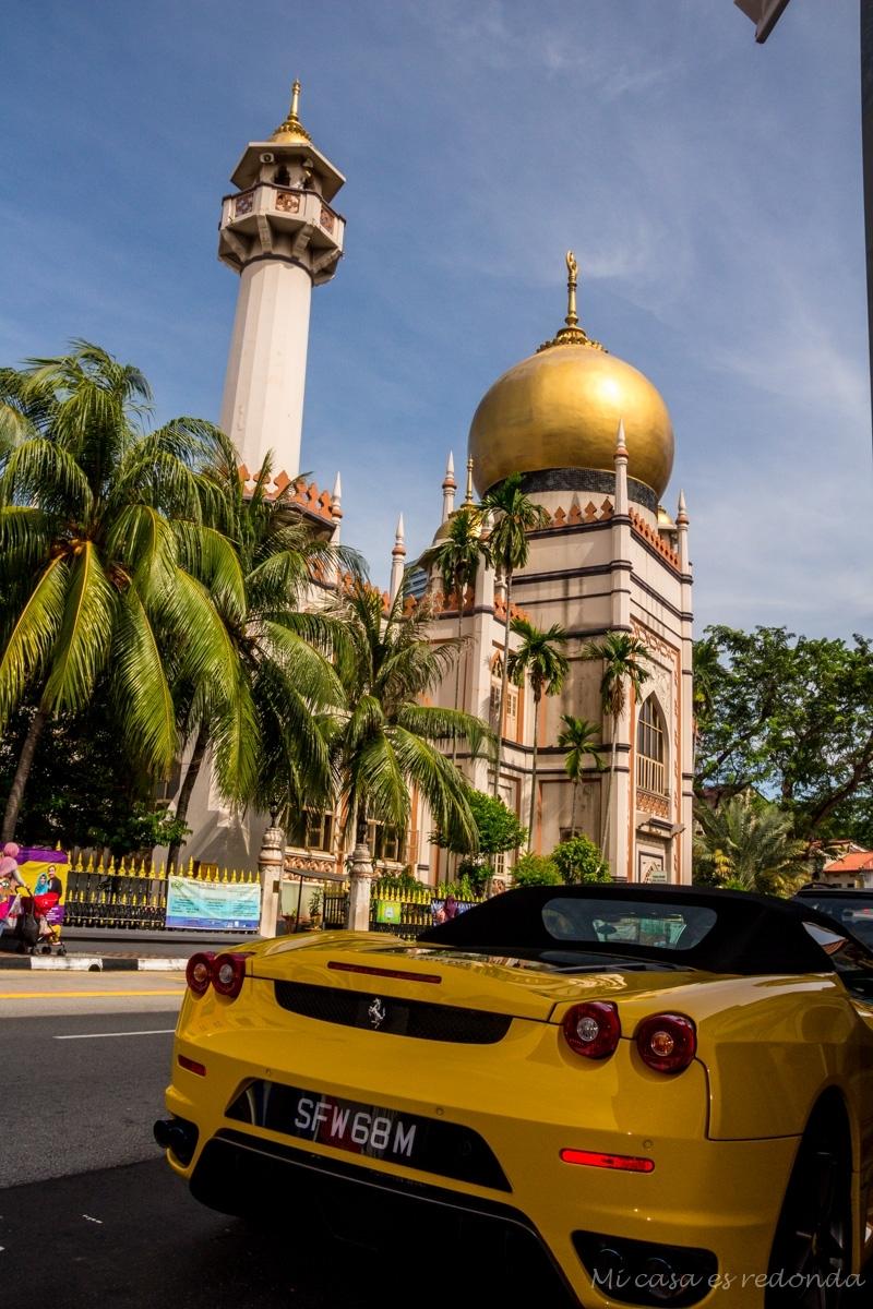 El barrio árabe, Singapur
