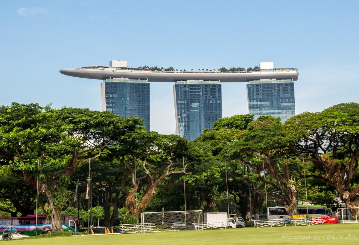 Marina Bay Sands, el edificio más emblemático de Singapur