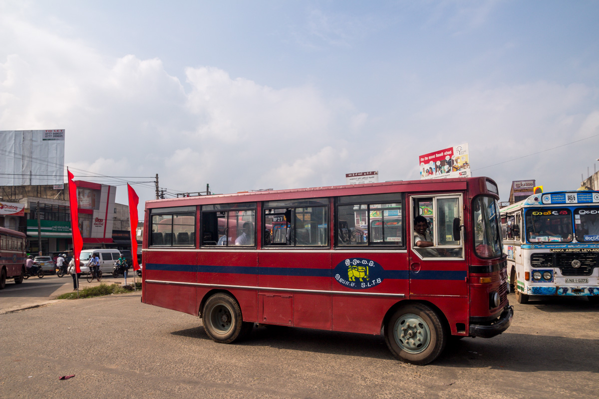 Bus en Sri Lanka