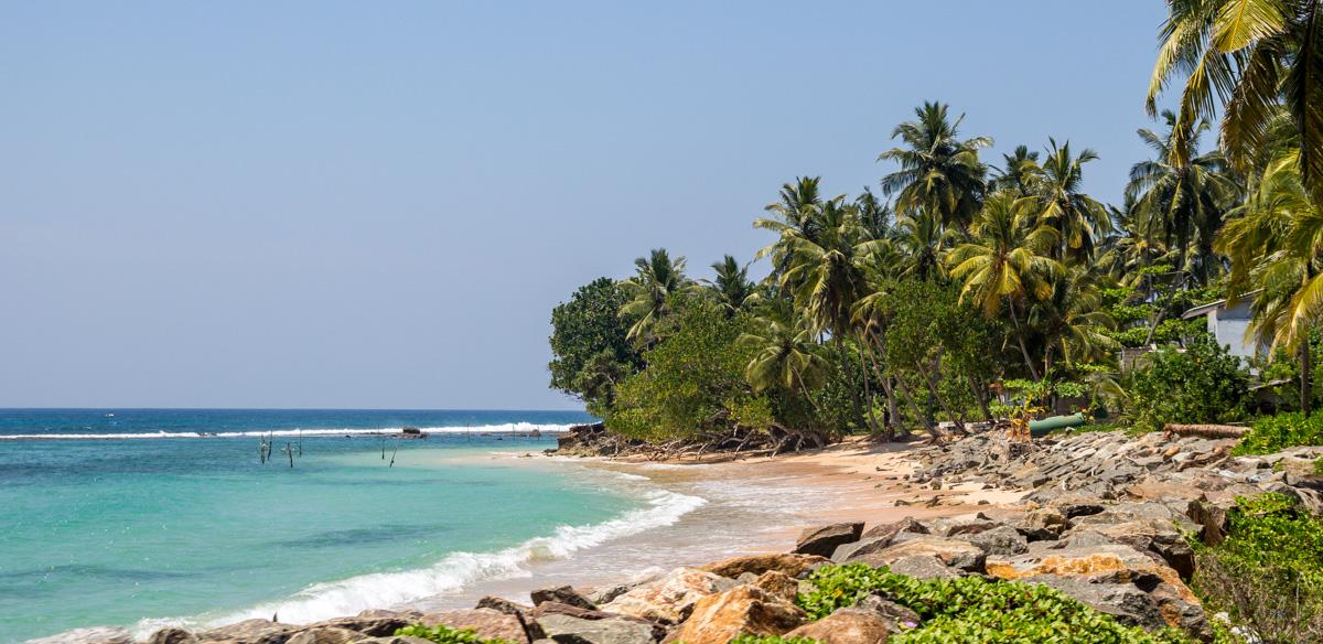 Playas del sur de Sri Lanka