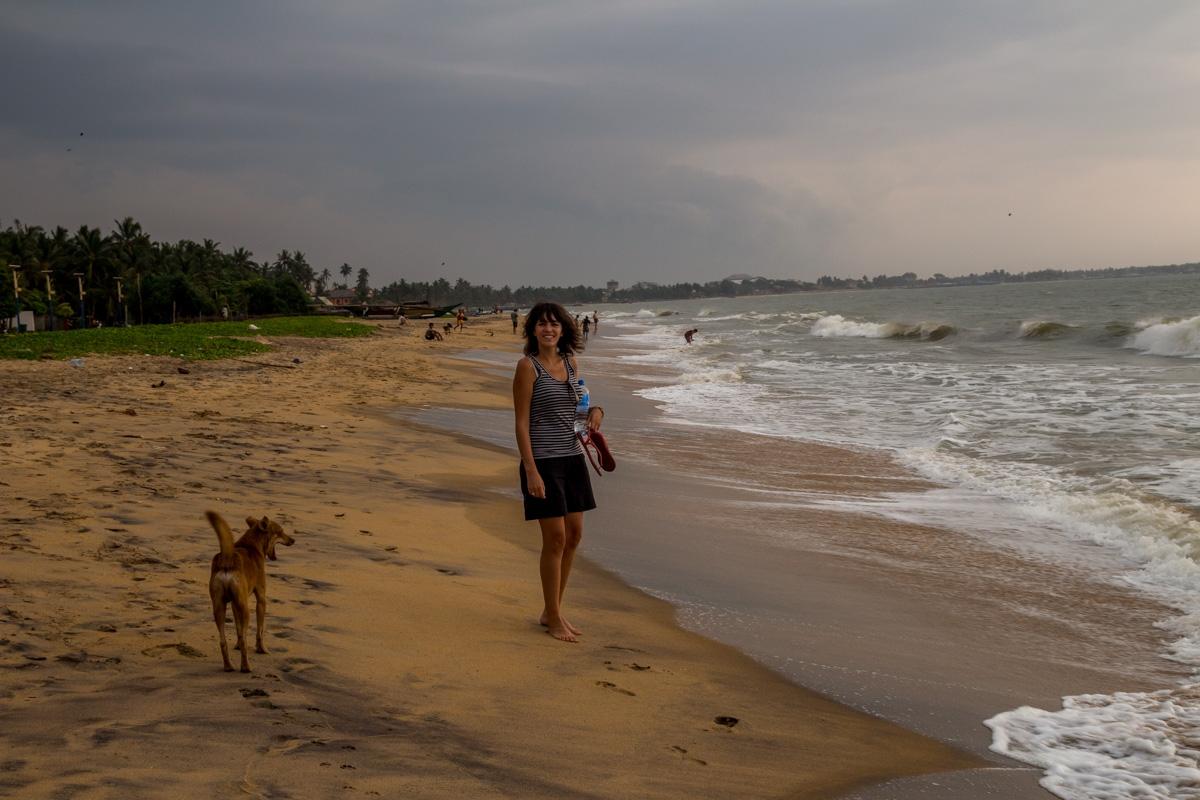 El agua no invita al baño, Negombo