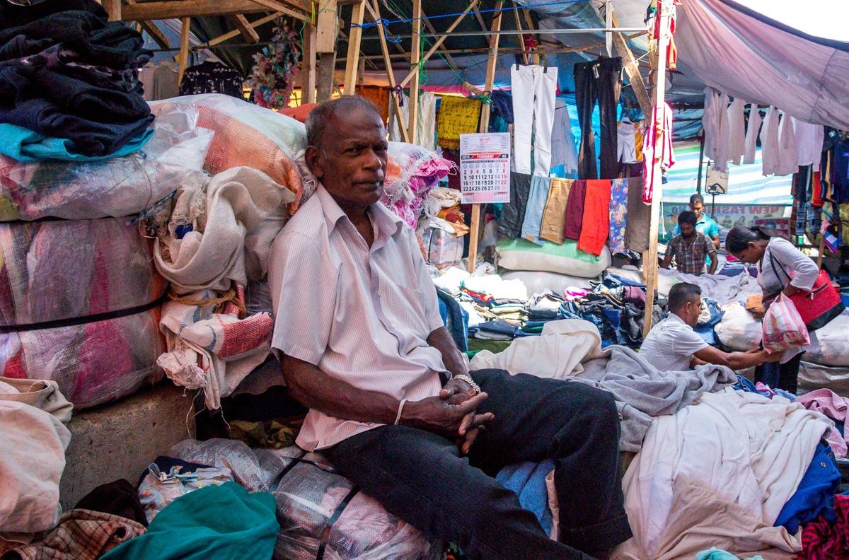 Mercado en Kandy