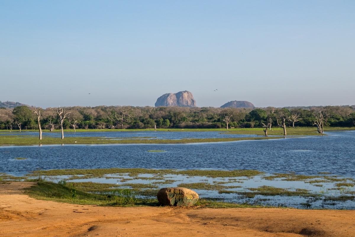 Vistas del parque de Yala
