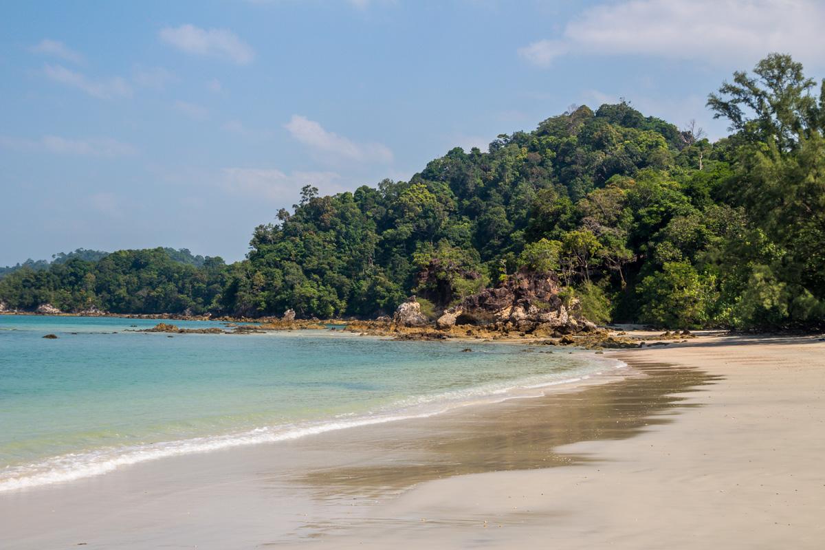 La playa de Aow Khao Kwai, Koh Phayam