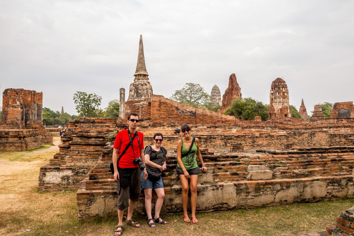 Paseando entre ruinas, Ayutthaya