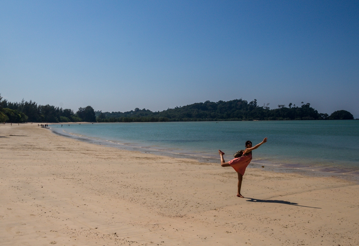 Nadando en tierra firme, Koh Phayam