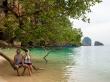 El árbol de hacerse fotos en Phra Nang