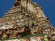 Los relieves del Wat Arun, Bangkok