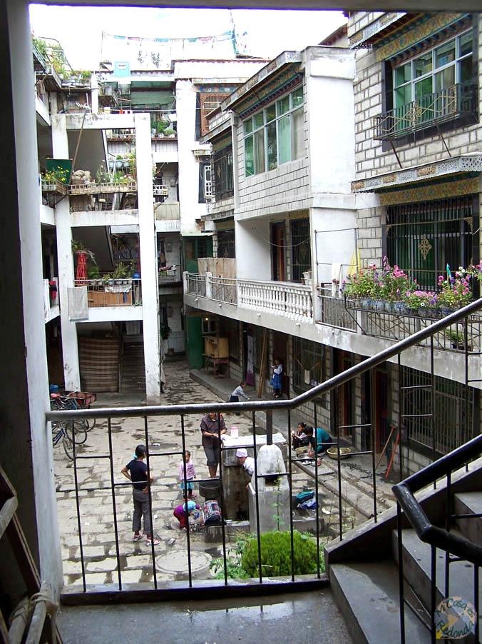 Barrios de Lhasa