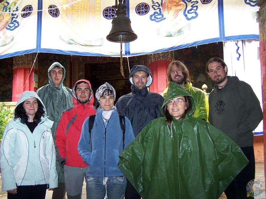 Empapados en Shigatse