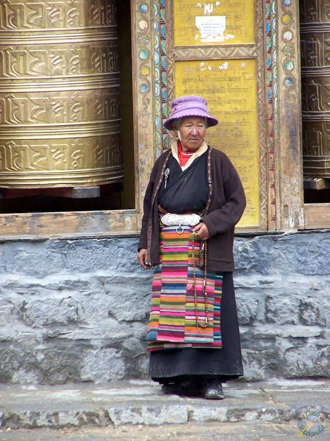 Señora tibetana