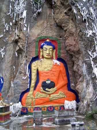 Budas en las paredes