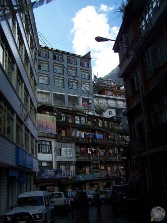 Calles de Zhangmú