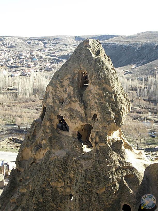 Formaciones calcáreas de Capadocia