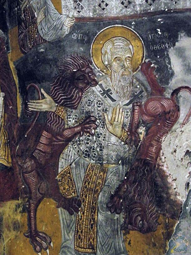 Frescos, en el monasterio