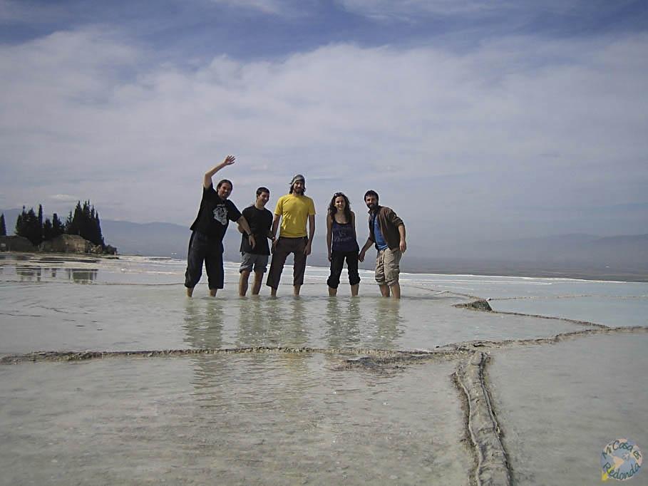 Pammukale! con Lyon, Juanín, Miriam y Juanjo