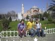 Los 3 con Hagia Sofia al fondo