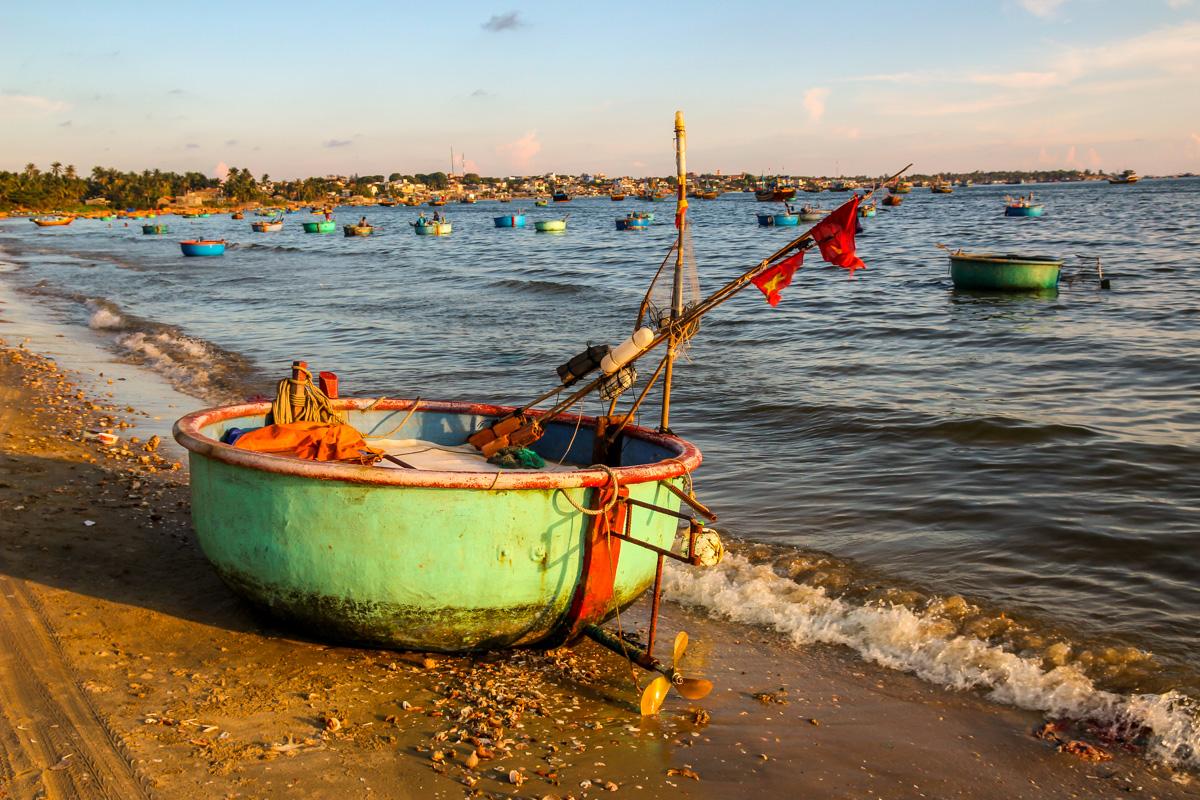 Barcas tazón, Mui Ne