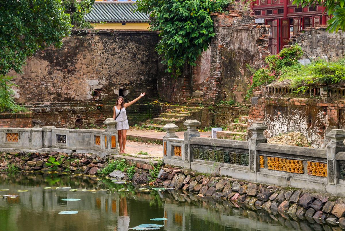 Entre estanques en la ciudad imperial, Hue