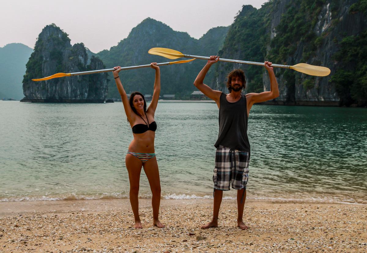 La isla es nuestra! Halong Bay