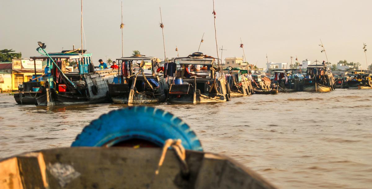 El mercado de Cai Rang