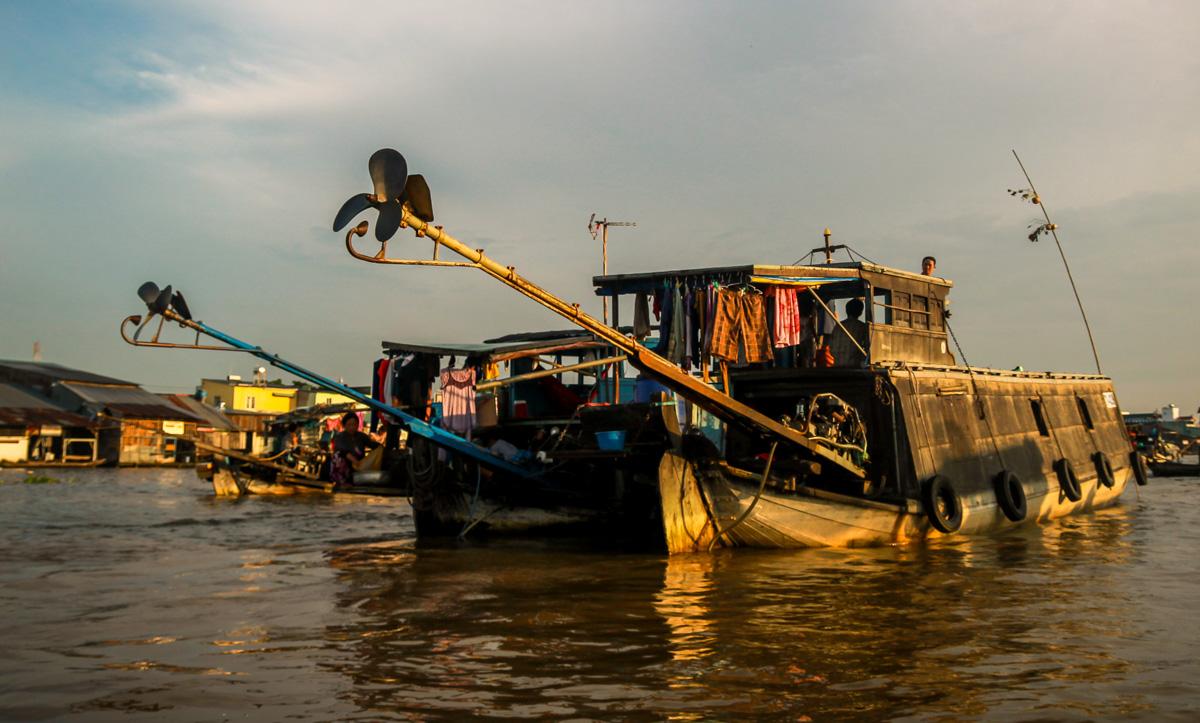 Preparando motores, Mekong